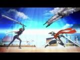 Горизонт посреди пустоты / Kyoukai Senjou no Horizon / 1 сезон 1 серия